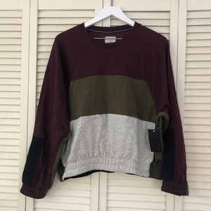 Hurley Color Block Sweatshirt